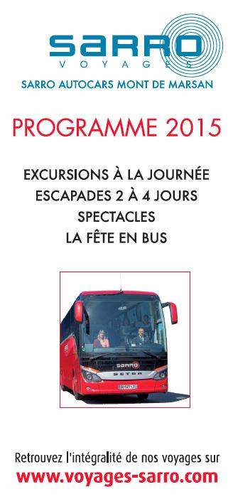 Bus des ferias 2016 mont de marsan bayonne dax - Horaire bus bayonne ...